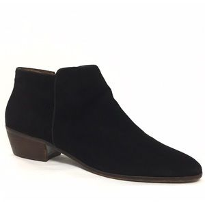 Sam Edelman Suede Petty Ankle Booties